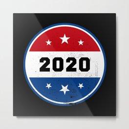 Vote 2020 American Election USA Gift Metal Print