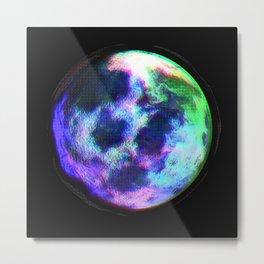 Glitch Planet Metal Print