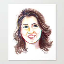 Loujain Al-Hathloul Canvas Print
