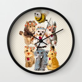 Spirit Animals Family Wall Clock
