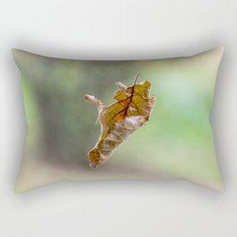 Flying autumnal leaf Rectangular Pillow