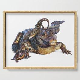 Reptile Fun Serving Tray