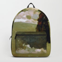 Winslow Homer1 - To The Rescue - Digital Remastered Edition Backpack