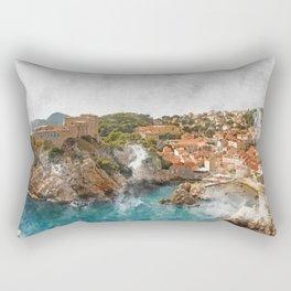Dubrovnik, Croatia Rectangular Pillow