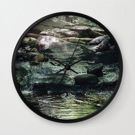 Dreamy Stream Wall Clock