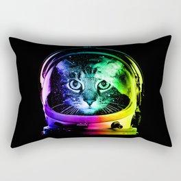 Astronaut Cat Rectangular Pillow
