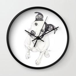 Rosco (Pit Mix) Wall Clock