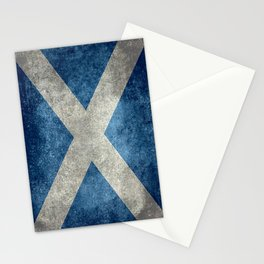 Flag of Scotland or Scottish Flag Stationery Cards