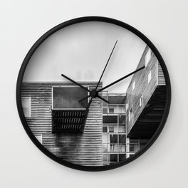 Building in Amsterdam Wall Clock