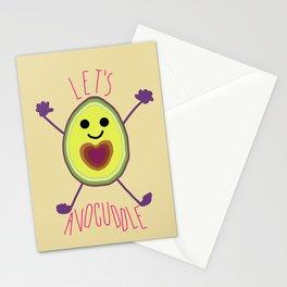 Let's Avocuddle AVOCADO Stationery Cards