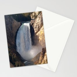 Lower Yellowstone Falls Stationery Cards