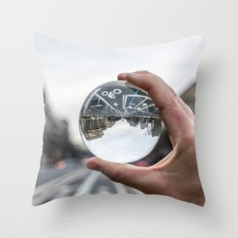 That Upside Down Feeling Throw Pillow