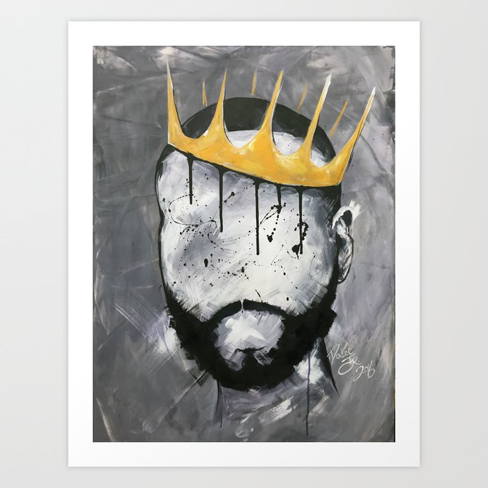 Naturally King Kunstdrucke