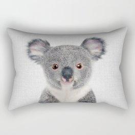 Baby Koala - Colorful Rectangular Pillow