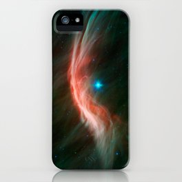 1436. Massive Star Makes Waves iPhone Case