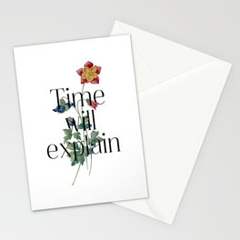 Time will explain. Jane Austen Collection Stationery Cards
