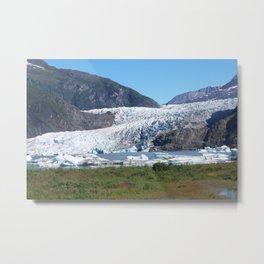 Mendenhall Glacier Metal Print