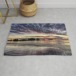 Chesterman Beach Sunset Rug