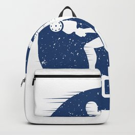 Zero Zero Two I Funny Pickleball Sport Gift Fast Movement design Backpack