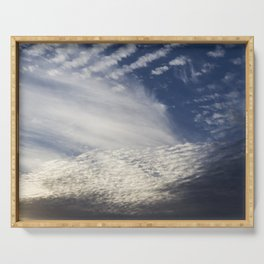 Cirrocumulus Clouds 8 Serving Tray