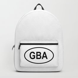 Alderney GBA Country Code  Backpack