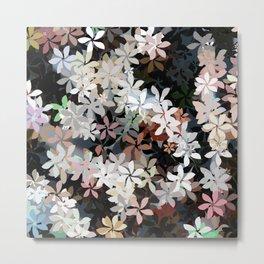 Country Breeze Flower Garden Metal Print