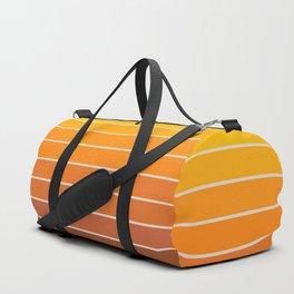Gradient Arch - Vintage Orange Duffle Bag