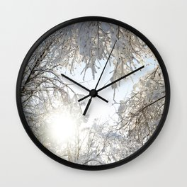Return of the Sun Wall Clock