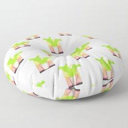 Prickly Pear Puesta Del Sol Floor Pillow