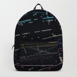 Neon Disco Backpack