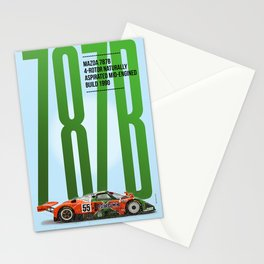 M 787B Tribute Stationery Cards
