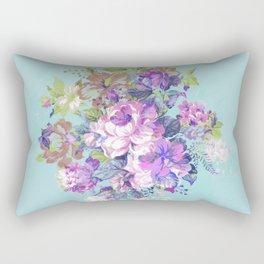 Deconstructed Floral Rectangular Pillow