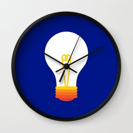 Pop Bulb Wall Clock