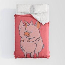Pig Hugs Comforters
