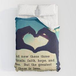 1 Corinthians 13:13 Comforters