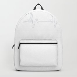 Heartbeat Burger Backpack