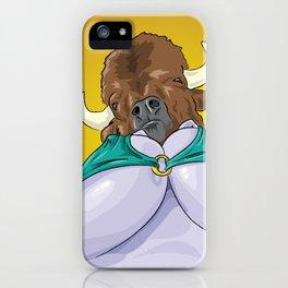 Mrs. Bison iPhone Case
