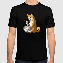 Shiba Inu Dog Ramen T-shirt
