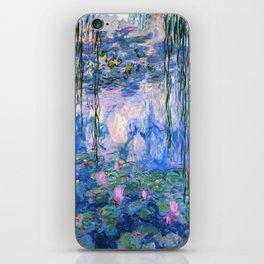 Water Lilies Monet iPhone Skin