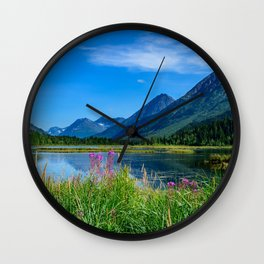 God's Country 4129 - Alaska Wall Clock