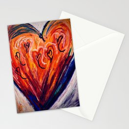 Love Conquers All Stationery Cards