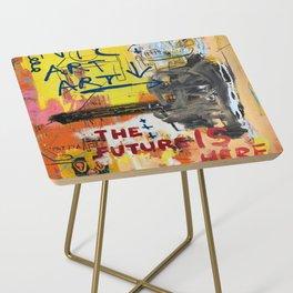 NYC Art Art Side Table