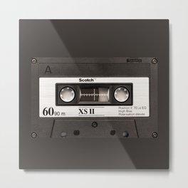 Cassette Tape Black And White #decor #society6 #buyart Metal Print
