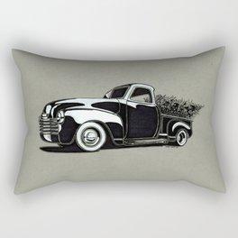 Christmas Truck  Rectangular Pillow