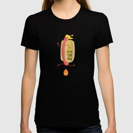 Fire Jumping Hot Dog T-shirt