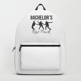 Marriage Bachelor Party Stag Night Bridegroom Groom Bachelor Rat Pack Gift Backpack