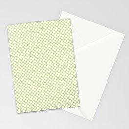 Daiquiri Green Polka Dots Stationery Cards