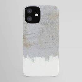 Painting on Raw Concrete iPhone Case