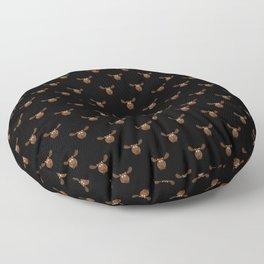 Dark Chocolate Moose Floor Pillow