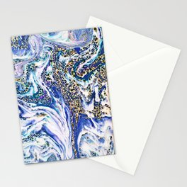 Blue Acid #society6 #buyart #decor Stationery Cards